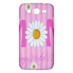 Valentine Happy Mothers Day Pink Heart Love Sunflower Flower Samsung Galaxy Mega 5 8 I9152 Hardshell Case  by Mariart