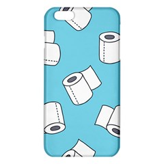 Roller Tissue White Blue Restroom Iphone 6 Plus/6s Plus Tpu Case by Mariart
