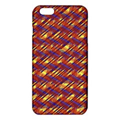Linje Chevron Blue Yellow Brown Iphone 6 Plus/6s Plus Tpu Case by Mariart
