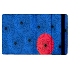 Pink Umbrella Red Blue Apple Ipad 2 Flip Case by Mariart