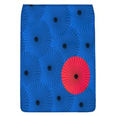 Pink Umbrella Red Blue Flap Covers (l)  by Mariart