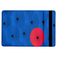 Pink Umbrella Red Blue Ipad Air Flip by Mariart