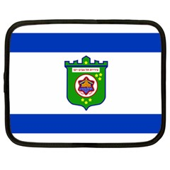 Flag Of Tel Aviv  Netbook Case (xl)  by abbeyz71