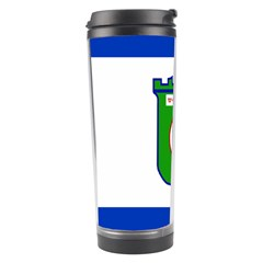 Flag Of Tel Aviv  Travel Tumbler by abbeyz71