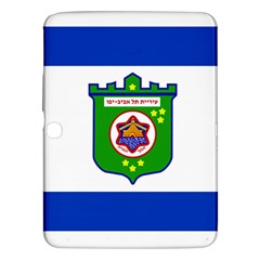 Flag Of Tel Aviv  Samsung Galaxy Tab 3 (10 1 ) P5200 Hardshell Case  by abbeyz71