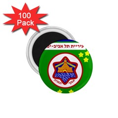 Tel Aviv Coat Of Arms  1 75  Magnets (100 Pack)  by abbeyz71