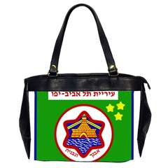 Tel Aviv Coat Of Arms  Office Handbags (2 Sides)  by abbeyz71