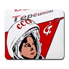 Valentina Tereshkova Large Mousepads by Valentinaart
