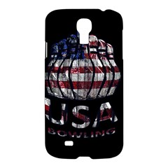 Usa Bowling  Samsung Galaxy S4 I9500/i9505 Hardshell Case by Valentinaart