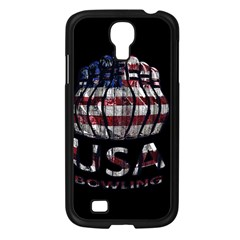 Usa Bowling  Samsung Galaxy S4 I9500/ I9505 Case (black) by Valentinaart