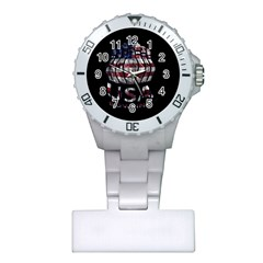 Usa Bowling  Plastic Nurses Watch by Valentinaart