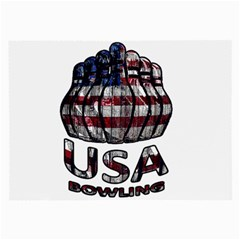 Usa Bowling  Large Glasses Cloth