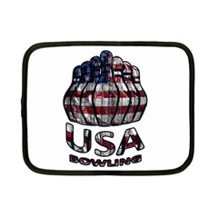 Usa Bowling  Netbook Case (small)  by Valentinaart