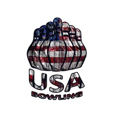 Usa Bowling  Magic Photo Cubes by Valentinaart
