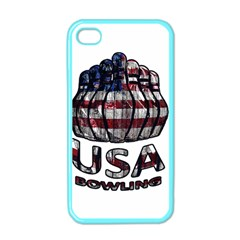 Usa Bowling  Apple Iphone 4 Case (color) by Valentinaart