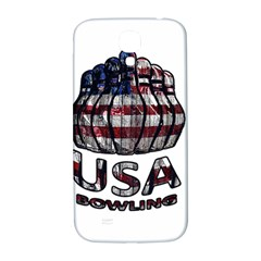 Usa Bowling  Samsung Galaxy S4 I9500/i9505  Hardshell Back Case by Valentinaart