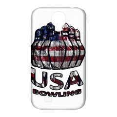 Usa Bowling  Samsung Galaxy S4 Classic Hardshell Case (pc+silicone) by Valentinaart