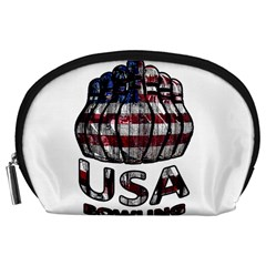 Usa Bowling  Accessory Pouches (large)  by Valentinaart