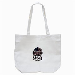 Usa Bowling  Tote Bag (white) by Valentinaart