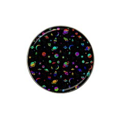 Space Pattern Hat Clip Ball Marker (10 Pack) by Valentinaart