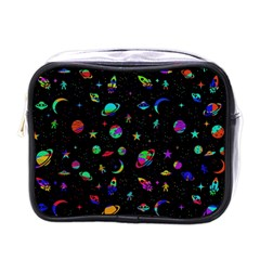 Space Pattern Mini Toiletries Bags