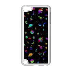 Space Pattern Apple Ipod Touch 5 Case (white) by Valentinaart