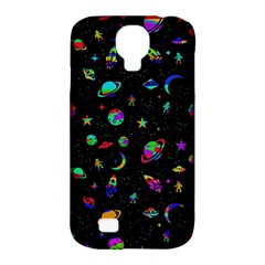 Space Pattern Samsung Galaxy S4 Classic Hardshell Case (pc+silicone) by Valentinaart