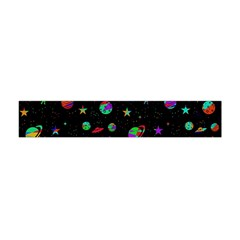Space Pattern Flano Scarf (mini) by Valentinaart