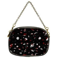 Space Pattern Chain Purses (two Sides)