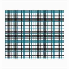 Plaid Pattern Small Glasses Cloth (2 Side) by Valentinaart