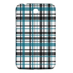 Plaid Pattern Samsung Galaxy Tab 3 (7 ) P3200 Hardshell Case