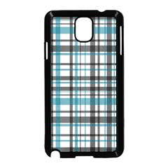 Plaid Pattern Samsung Galaxy Note 3 Neo Hardshell Case (black)