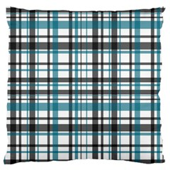 Plaid Pattern Standard Flano Cushion Case (two Sides)