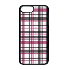Plaid Pattern Apple Iphone 7 Plus Seamless Case (black) by Valentinaart