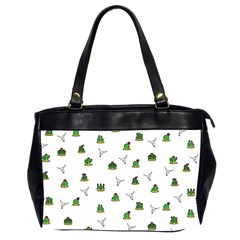 Cactus Pattern Office Handbags (2 Sides)  by Valentinaart