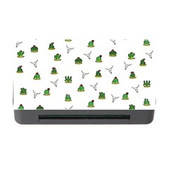 Cactus Pattern Memory Card Reader With Cf by Valentinaart
