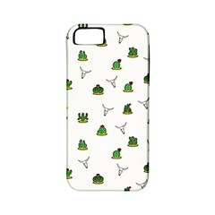 Cactus Pattern Apple Iphone 5 Classic Hardshell Case (pc+silicone) by Valentinaart