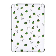 Cactus Pattern Apple Ipad Mini Hardshell Case (compatible With Smart Cover)