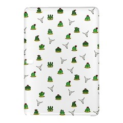 Cactus Pattern Samsung Galaxy Tab Pro 12 2 Hardshell Case by Valentinaart