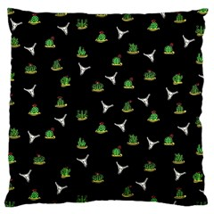 Cactus Pattern Large Cushion Case (two Sides)
