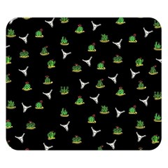 Cactus Pattern Double Sided Flano Blanket (small)