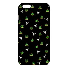 Cactus Pattern Iphone 6 Plus/6s Plus Tpu Case by Valentinaart