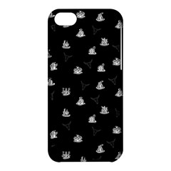 Cactus Pattern Apple Iphone 5c Hardshell Case by Valentinaart