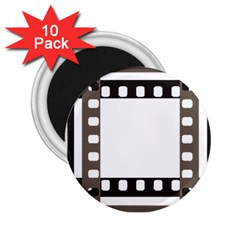 Frame Decorative Movie Cinema 2 25  Magnets (10 Pack)  by Nexatart