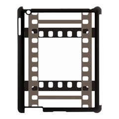 Frame Decorative Movie Cinema Apple Ipad 3/4 Case (black)
