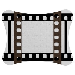 Frame Decorative Movie Cinema Jigsaw Puzzle Photo Stand (bow)