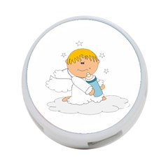 Angel Baby Bottle Cute Sweet 4 Port Usb Hub (two Sides)  by Nexatart