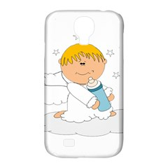 Angel Baby Bottle Cute Sweet Samsung Galaxy S4 Classic Hardshell Case (pc+silicone)