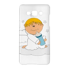 Angel Baby Bottle Cute Sweet Samsung Galaxy A5 Hardshell Case  by Nexatart