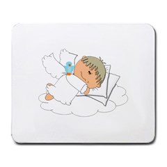 Sweet Dreams Angel Baby Cartoon Large Mousepads by Nexatart